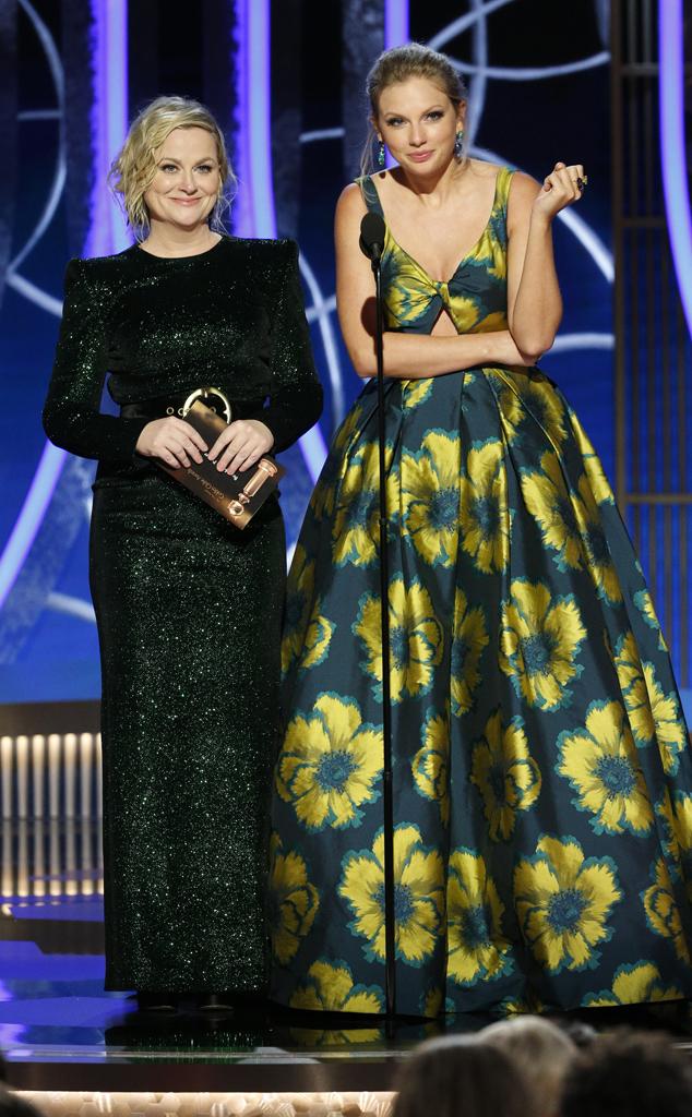 Amy Poehler, Taylor Swift, 2020 Golden Globes, Show