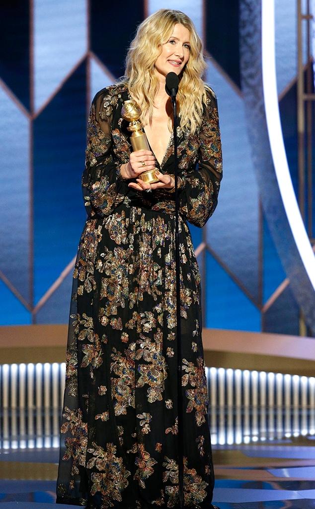 Laura Dern, 2020 Golden Globes, Winners