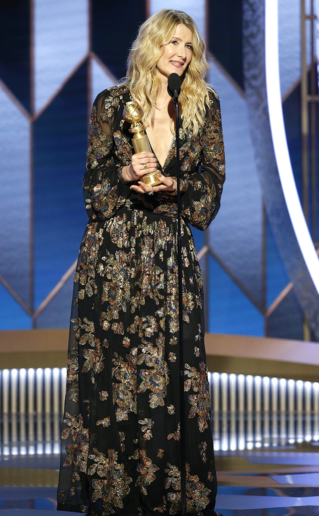 Laura Dern, 2020 Golden Globes, Winners