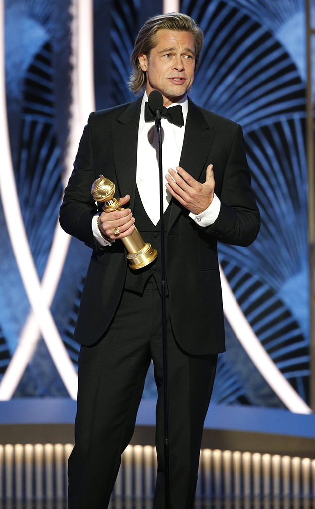 Brad Pitt, 2020 Golden Globes, Winners