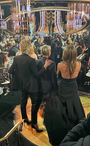 Ellen DeGeneres, Jennifer Aniston, 2020 Golden Globe Awards, E! reporting