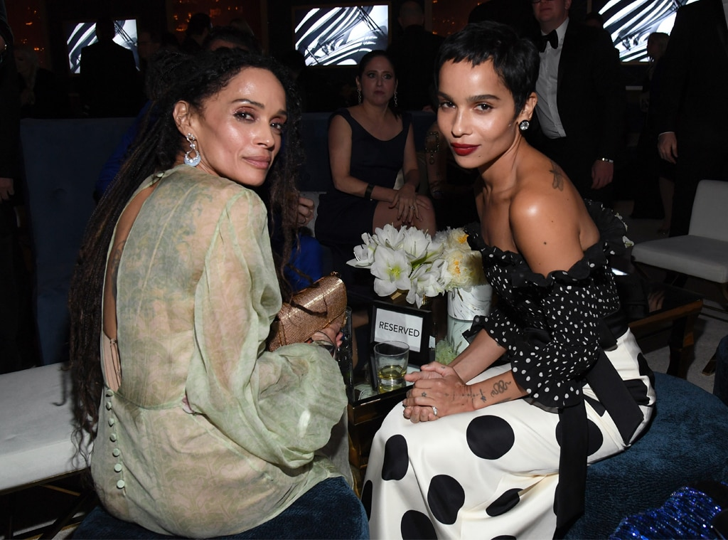 Lisa Bonet Zoe Kravitz From 2020 Golden Globes After Party