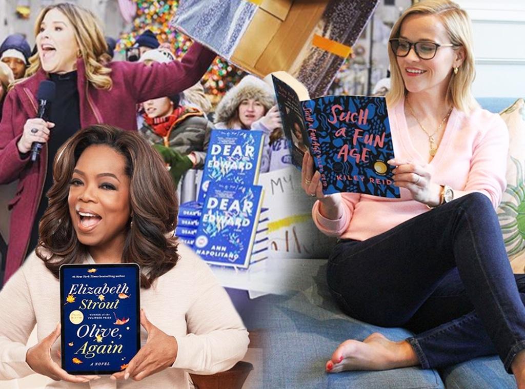 Ecomm: January 2020 Celeb Book Club Picks