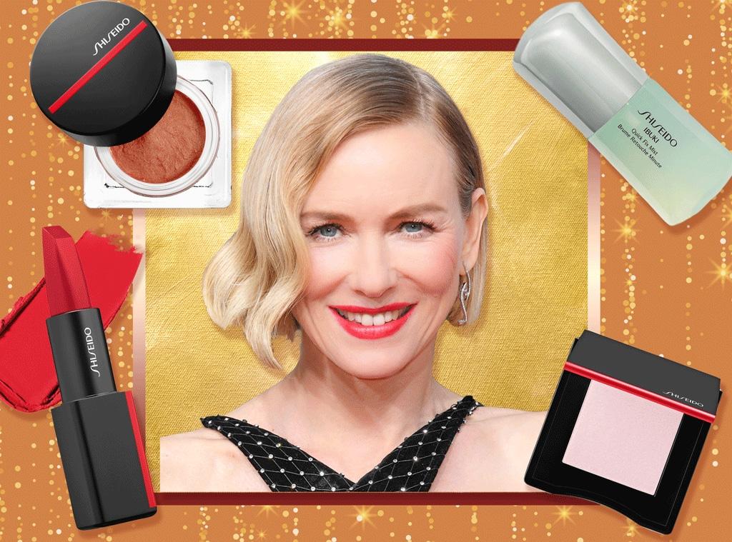 E-Comm: Naomi Watts, 2020 Golden Globes, Beauty Breakdown