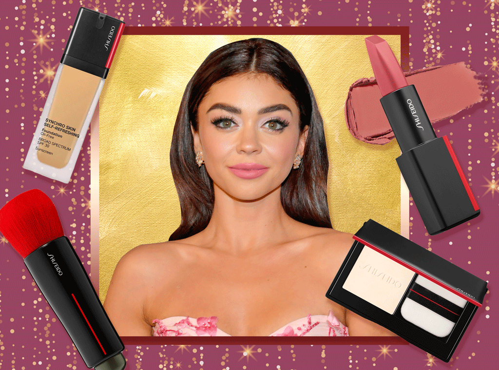 E-Comm: Sarah Hyland, 2020 Golden Globes, Beauty Breakdown