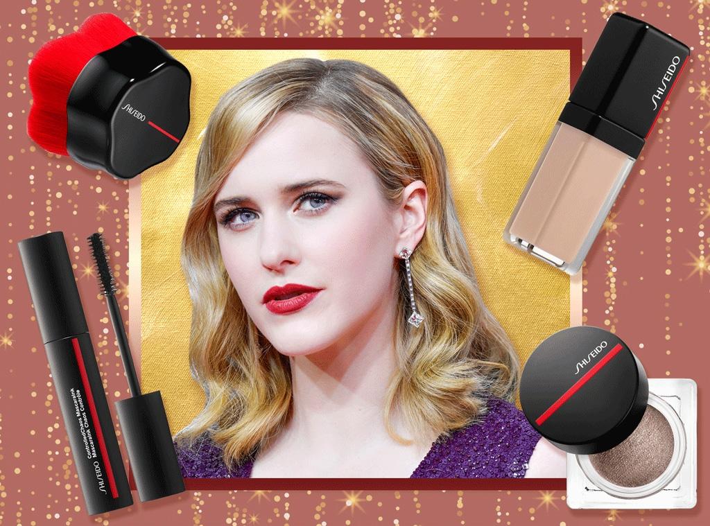 E-Comm: Rachel Brosnahan, 2020 Golden Globes, Beauty Breakdown
