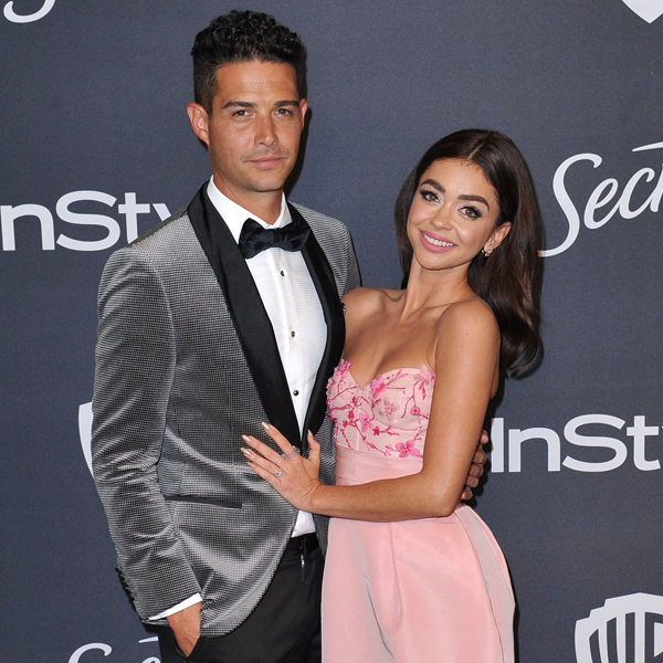 Sarah Hyland Teases Getting Married at City Hall to Wells Adams