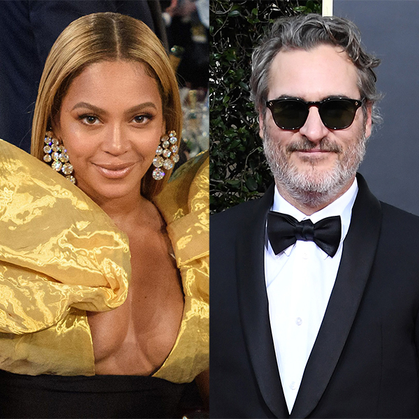 Beyoncé Didn't Give Joaquin Phoenix a Standing Ovation at the Golden Globes and the Internet Has Thoughts