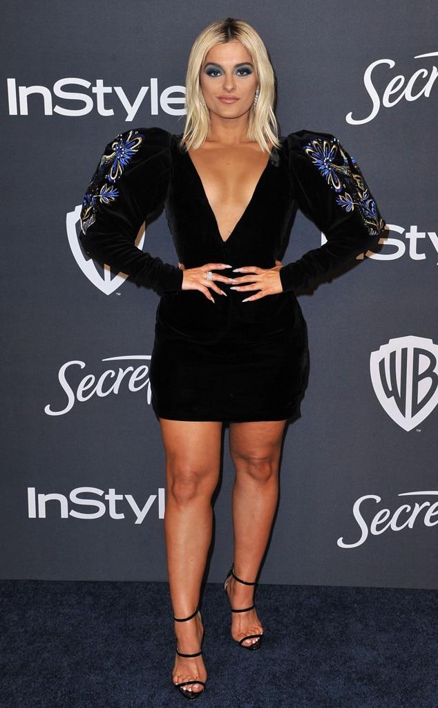 Bebe Rexha, 2020 Golden Globe Awards, Party Pics
