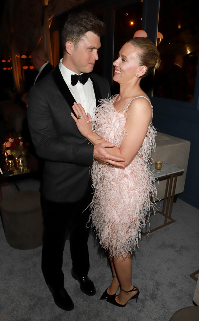 Relive Scarlett Johansson And Colin Jost S Road To Marriage E Online
