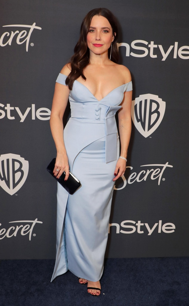 Sophia Bush, 2020 Golden Globe Awards, Party Pics