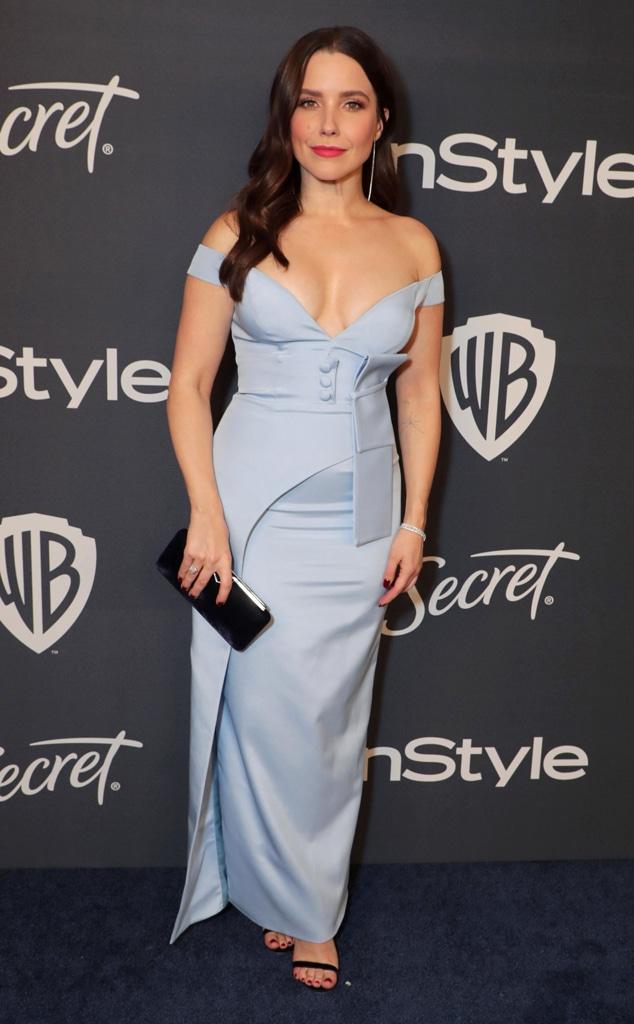Sophia Bush, 2020 Golden Globe Awards, Party Pics