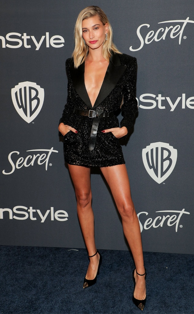 Hailey Bieber, Hailey Baldwin, 2020 Golden Globe Awards, Party Pics