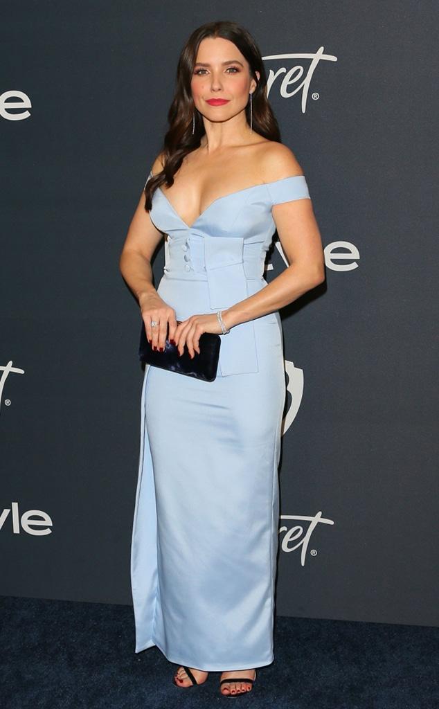 Sophia Bush, 2020 Golden Globe After-Party