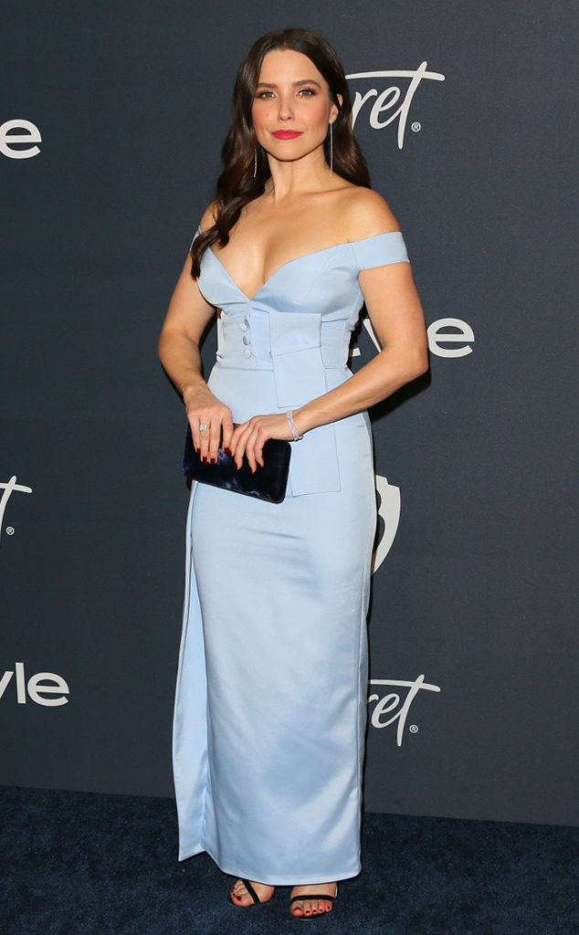 Sophia Bush, 2020 Golden Globe After-Party