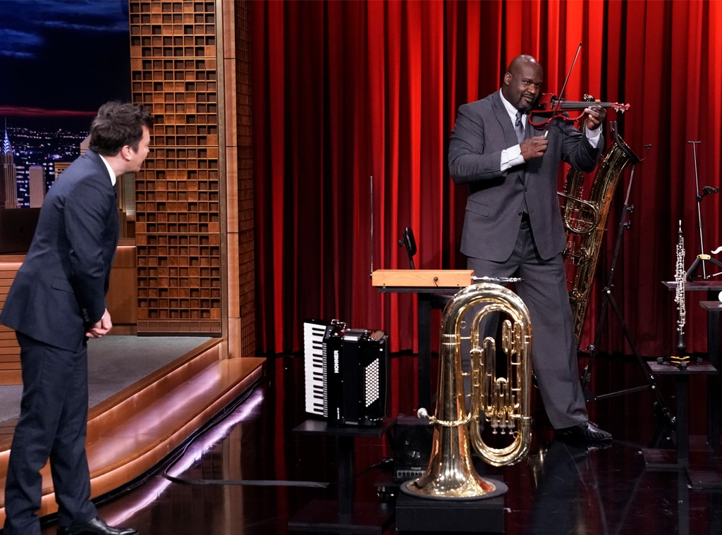 Shaquille O'Neal, The Tonight Show