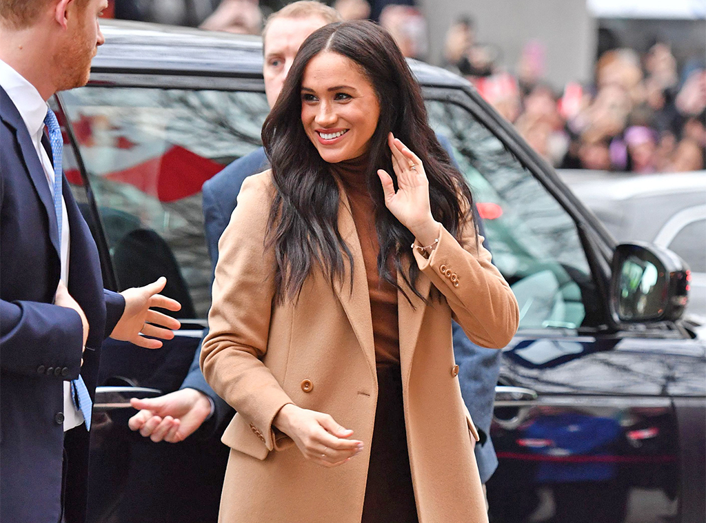 Meghan Markle, Wool Camel Coat