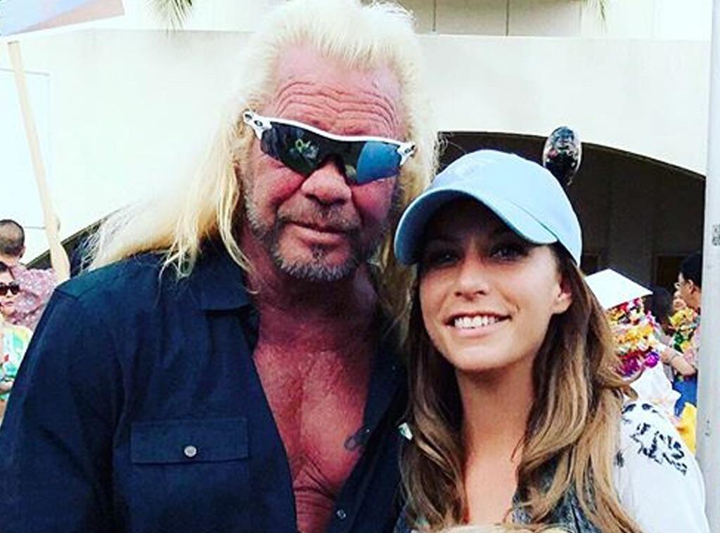 The daughter of Duane Chapman rammed his new girlfriend