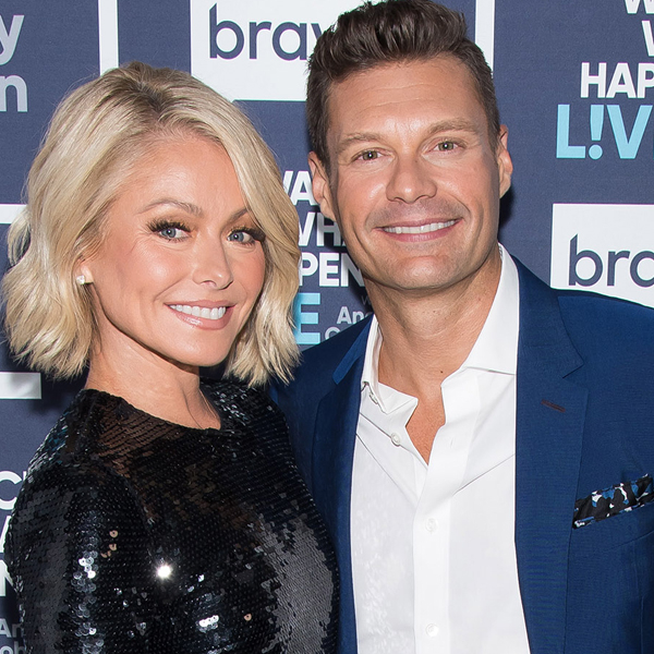 "Kelly Ripa Reveals She ""Quit Drinking"" After Ryan Seacrest Became Her Co-Host"
