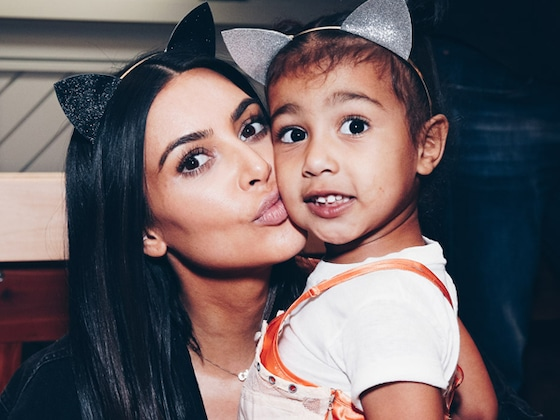 Kim Kardashian Shares Sweet Selfie With North West at School Drop Off