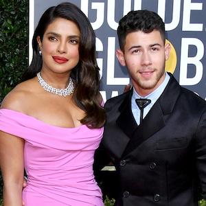 Priyanka Chopra, Nick Jonas, 2020 Golden Globe Awards