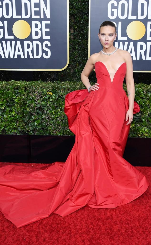 Scarlett Johansson, 2020 Golden Globe Awards