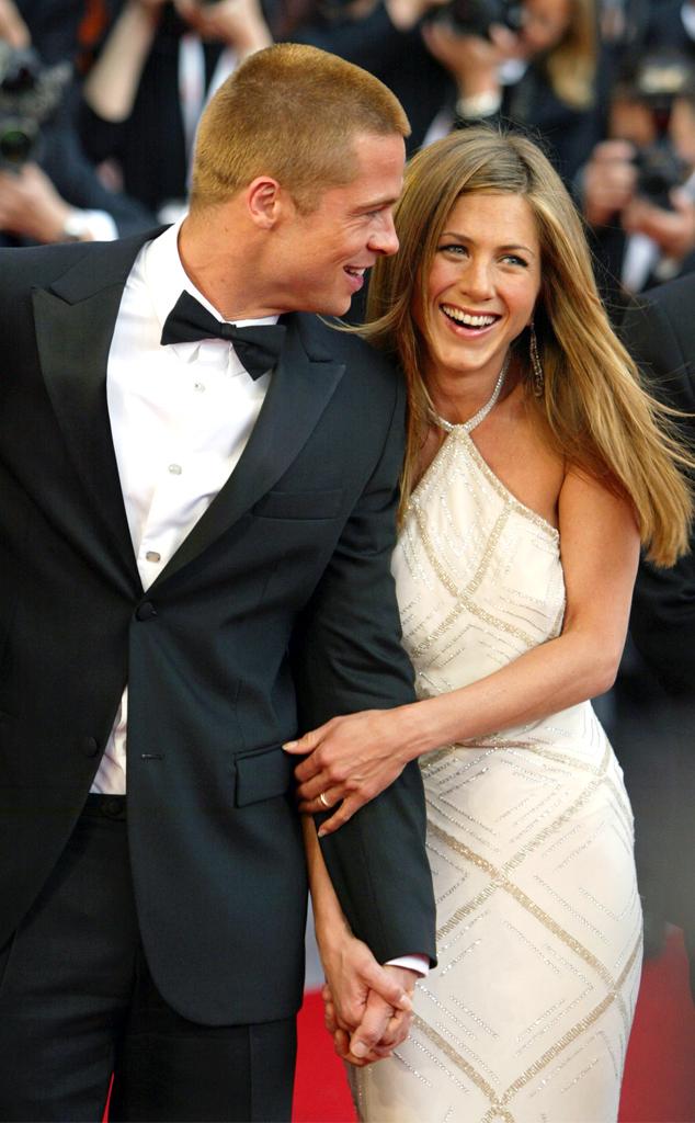 Brad Pitt, Jennifer Aniston, 2004