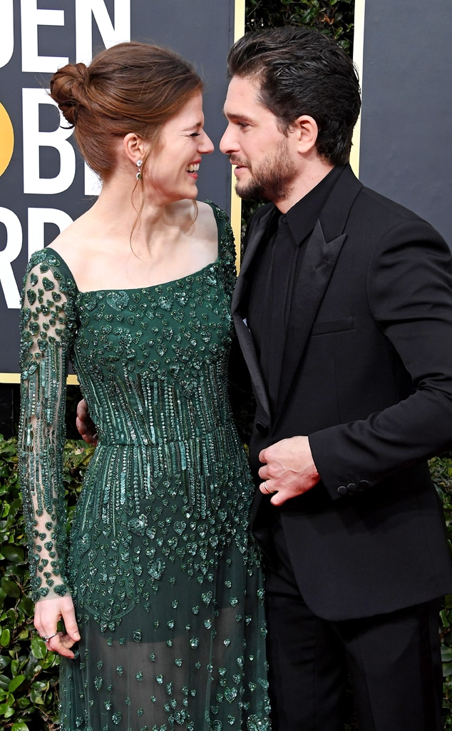 Rose Leslie and Kit Harington's Love Story Will Melt Your ...
