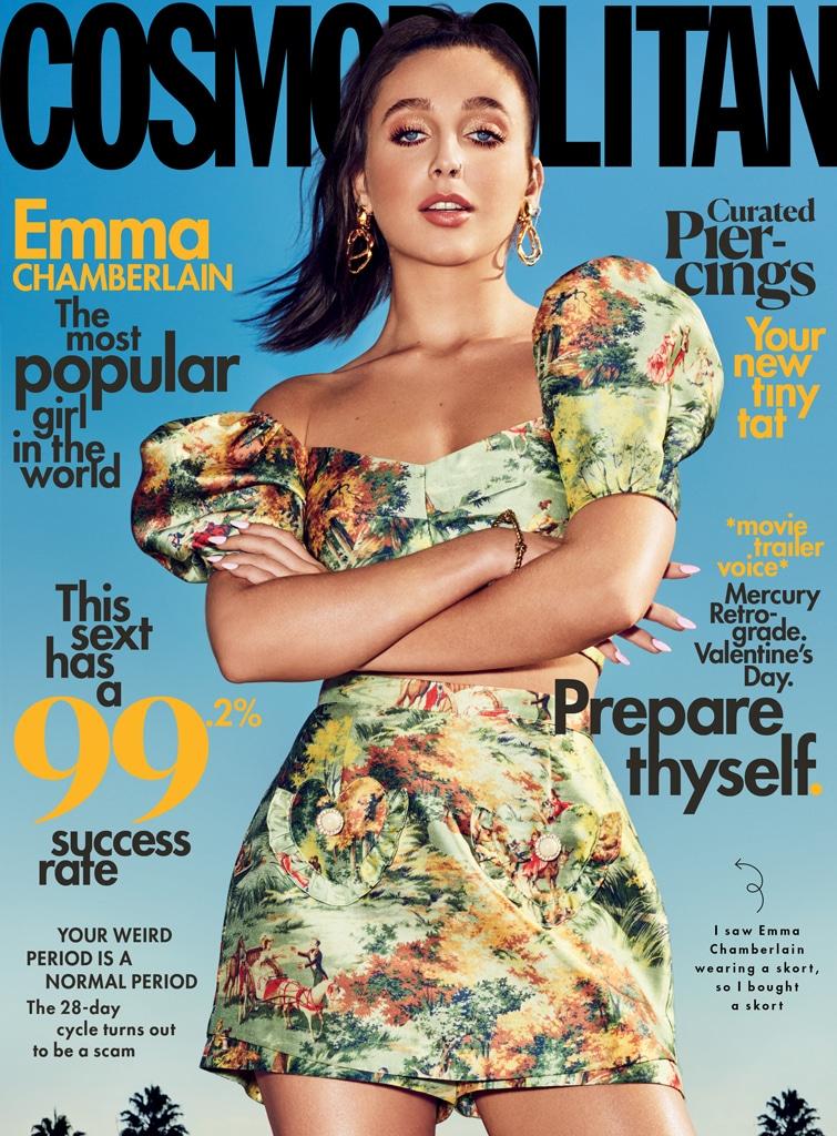 Cosmo magazine, Cover, Emma Chamberlain
