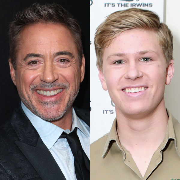 Robert Downey Jr. and Steve Irwin's Son Robert Have Heartwarming Reunion 16 Years After Meeting