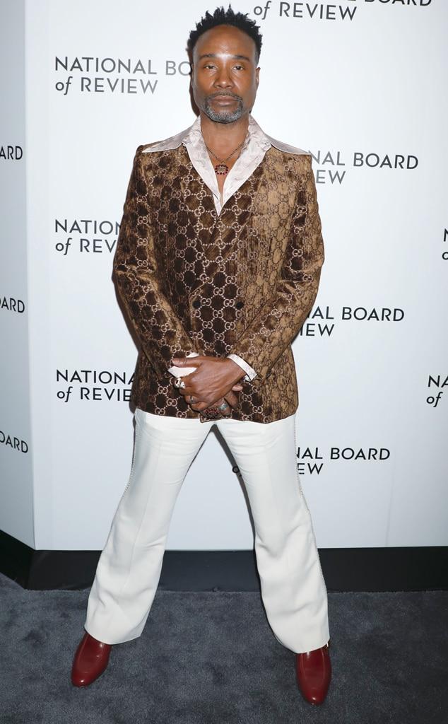 Billy Porter, Fashion Police Widget