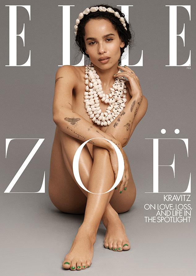 Zoe Kravitz, Elle, February 2020