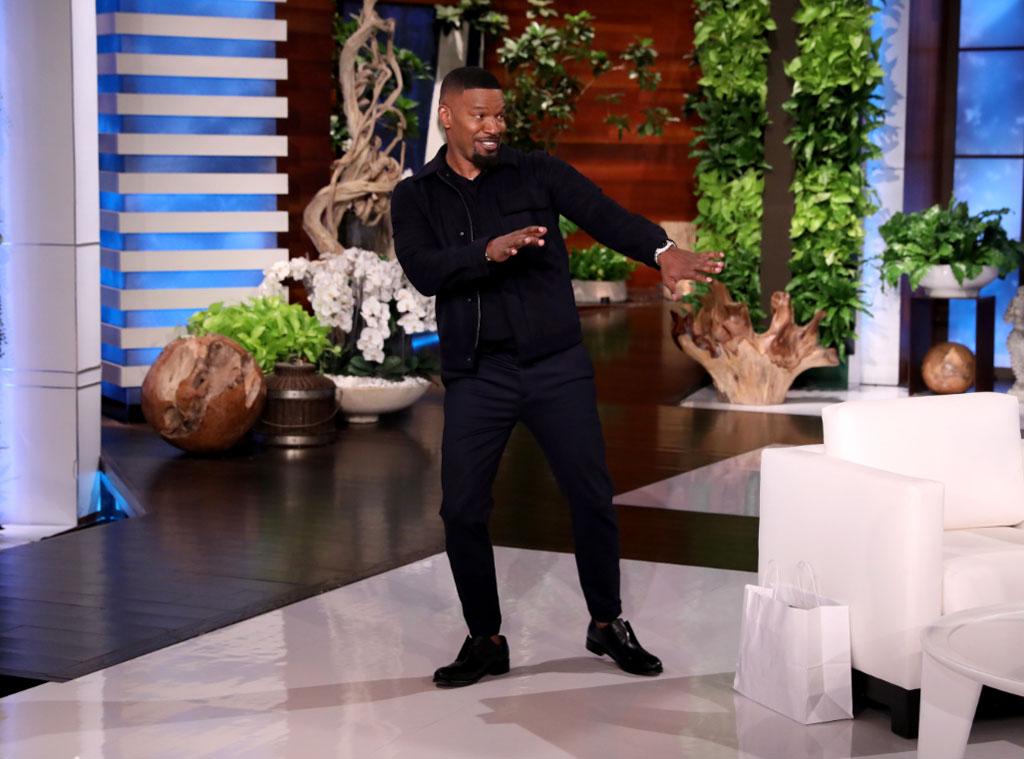 Jamie Foxx, Ellen DeGeneres