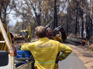 Australia Fires, Firefighters