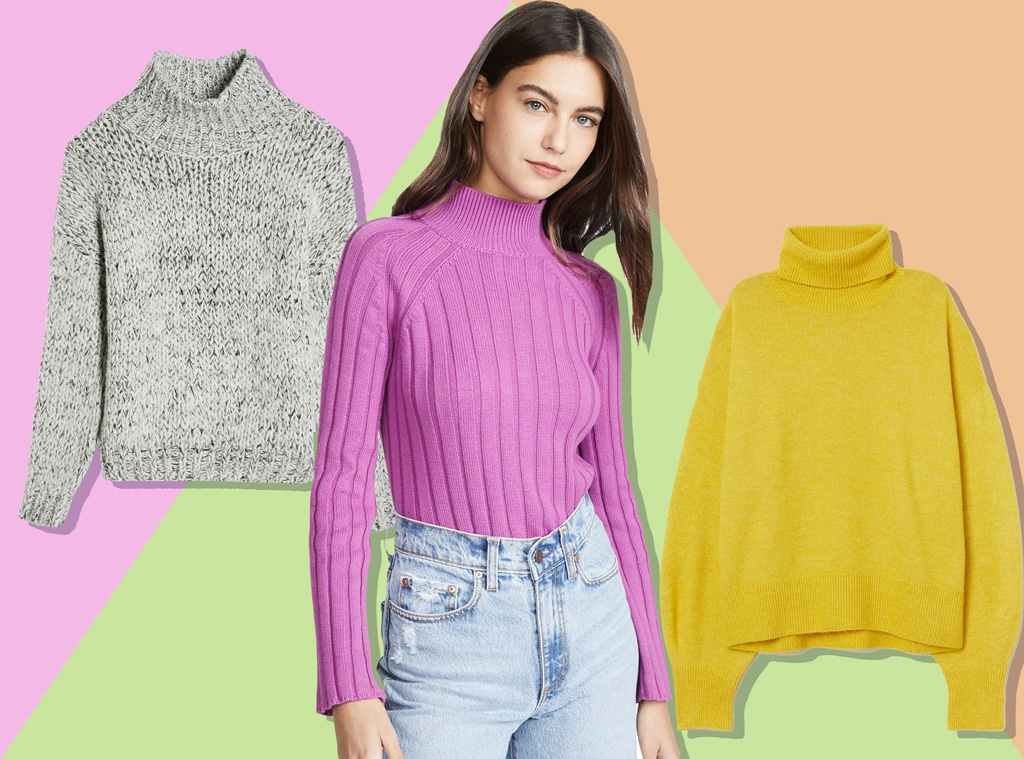 E-Comm: Best Turtlenecks To Dress Up Any Look
