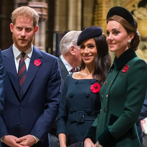 Prince Harry, Prince William, Kate Middleton, Meghan Markle