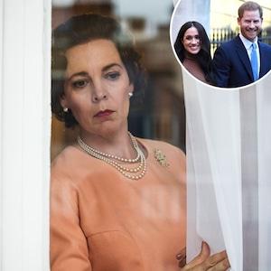 Olivia Colman, The Crown, Prince Harry, Meghan Markle