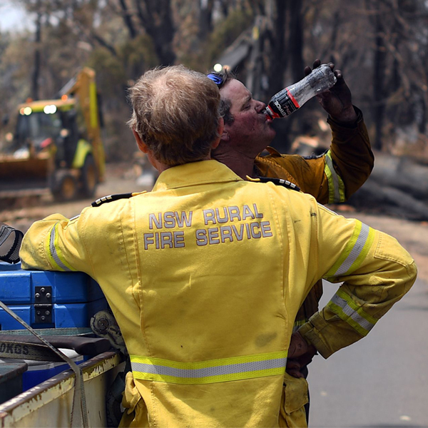 Watching Australians Welcome U.S. Firefighters Will Encourage You to Help