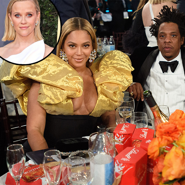 Beyoncé and Jay-Z Send Reese Witherspoon Champagne After Viral Golden Globes Moment