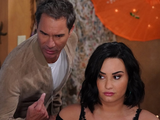 <i>Will & Grace</i> Has Gifted Us With Bloopers Featuring Demi Lovato