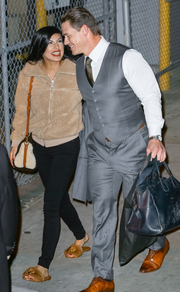 John Cena And Girlfriend Shay Prove They Re Still Going Strong E Online