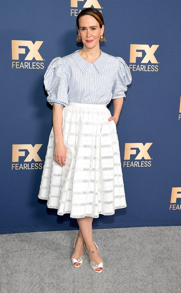 Sarah Paulson, Fashion Police widget