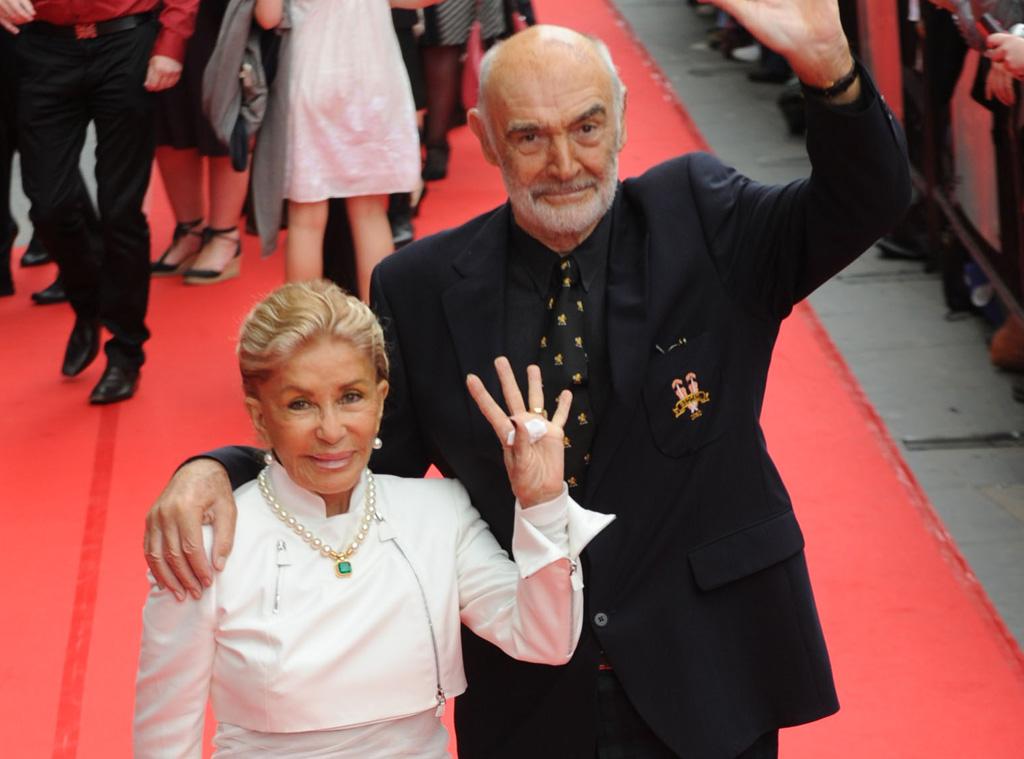Celebrity News: Sean Connery, Micheline Roquebrune