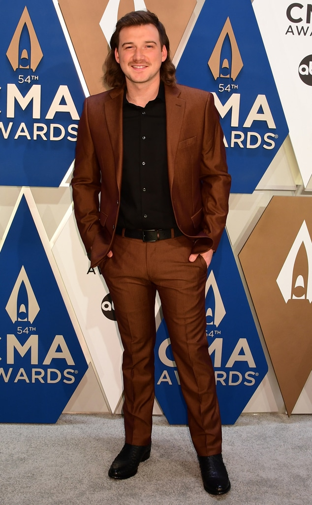 Morgan Wallen, 2020 CMA Awards, Red Carpet Fashions