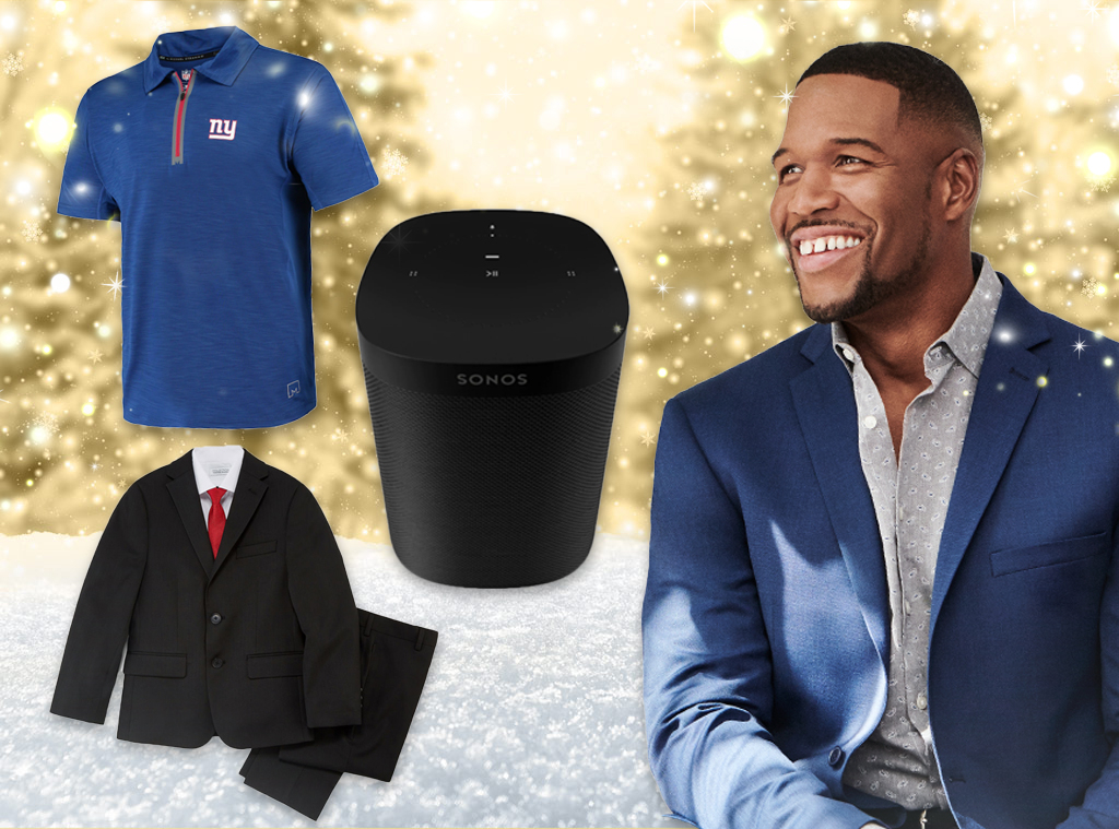 Ecomm, Holiday Gift Guide Michael Strahan