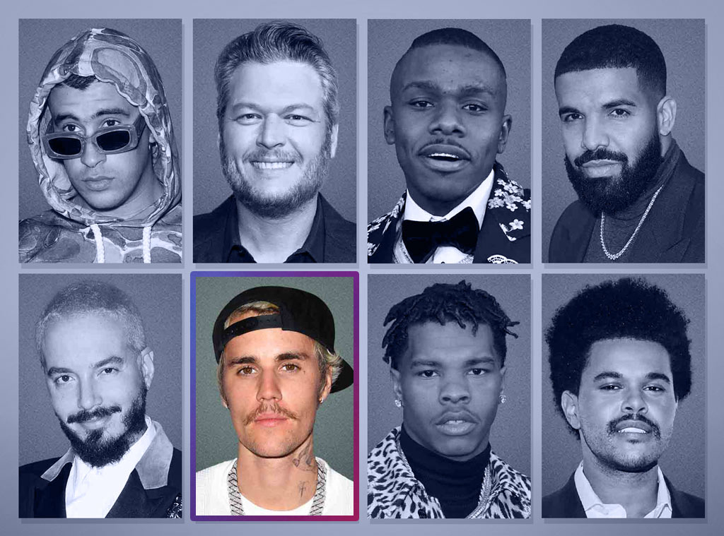 E! Peoples Choice Awards Nominees, Male Artist of 2020