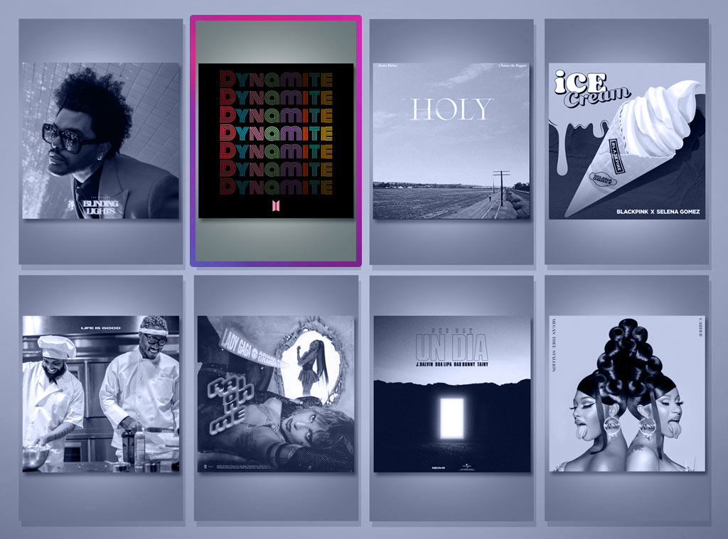 E! Peoples Choice Awards Nominees, Music Video of 2020