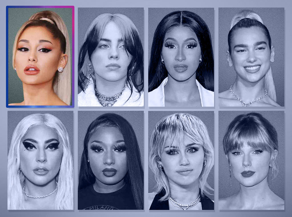 E! Peoples Choice Awards Nominees, Female Artist of 2020