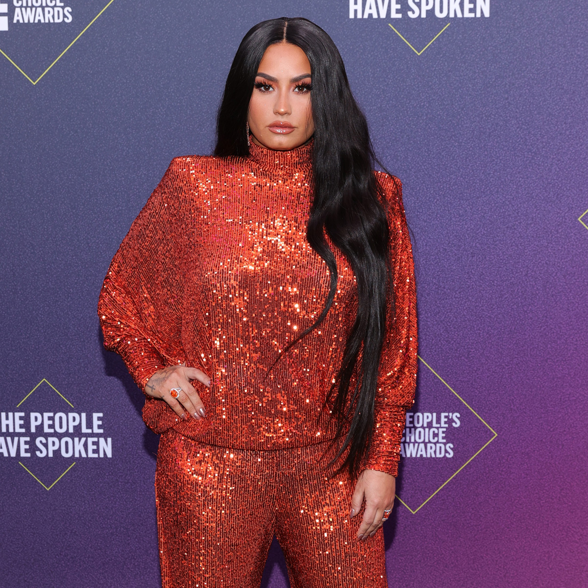 "Exclusive: Demi Lovato Reveals Why Her 2020 People's Choice Awards Hosting Gig Is So ""Nerve-Wracking"""