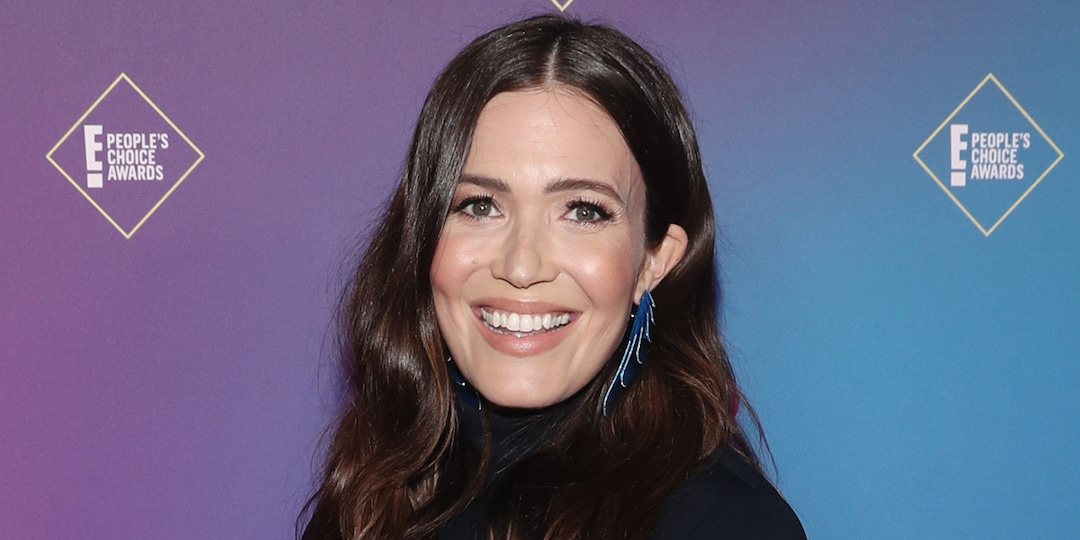 """Mandy Moore Shares Chic Maternity Portrait as Due Date Is """"Almost"""" Here - E! Online.jpg"""